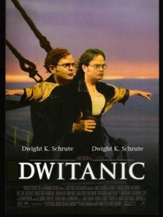 Just awkward. :D Dwight...