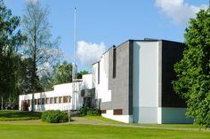 Alajärvi Town Hall, Finland (1966)   Alvar Aalto