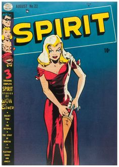 The Spirit n°22 - Art by Will Eisner