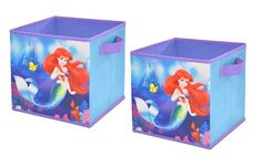 Kids' Room Wastebaskets - Disney Ariel Storage Cubes *** Check this awesome product by going to the link at the image. Little Mermaid Bedroom, Mermaid Room, Baby Mermaid, Mermaid Birthday, Disney Little Mermaids, Ariel The Little Mermaid, Kids Storage, Cube Storage, Collapsible Storage Cubes