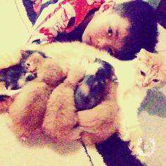 I Love my youbi n her Kitten
