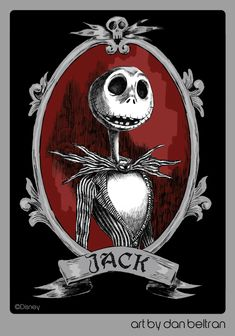 Jack by Dan Beltran - The Nightmare Before Christmas