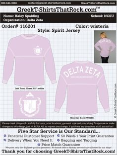 Delta Zeta T-Shirts That Rock 116201 Final  Just email this proof to us and we'll customize it for your chapter.