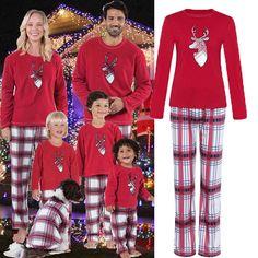 bf426a7df7 XMAS PJs Family Matching Adult Women Kids Christmas Nightwear Pyjamas  Pajamas#Matching#Adult#