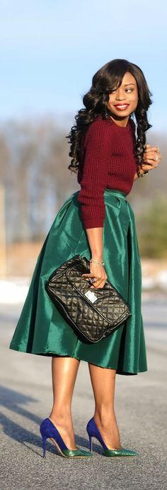 Jewel Tones  Jadore-Fashion