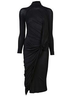 DONNA KARAN - Double Layer Dress