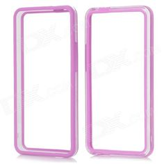 Brand: No; Quantity: 1 Piece; Color: Purple + transparent; Material: Plastic; Compatible Models: HTC ONE/M7; Other Features: Protects your phone from shock, scratch; Personalizes your phone; Packing List: 1 x Bumper frame case; http://j.mp/1q1sDtd