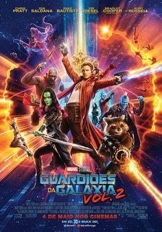 Guardiões da Galáxia Vol. 2, da Marvel Studios, os Guardiões devem lutar para manter a sua família recém-descoberta unida, enquanto tentam desvendar o mistério do verdadeiro parentesco de Peter Quill.