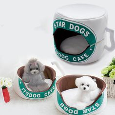 Tea Coffee Cup Pet Cushion Dog Bed House Cat Bed Cushion Kennel Pens Doggy Puppy Sofa Sleeping Bag Warm Free Shipping 1PC