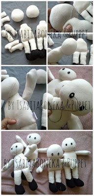 Cheer your child's day: Sneak peek process of making handmade doll