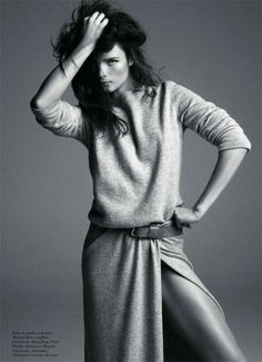 anna de rijk by inez van lamsweerde & vinoodh matadin for vogue paris, april 2011 via oh fashion models