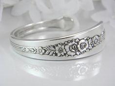Spoon Bracelet Silverware Jewelry Spoon by SilverSpoonCreations, $24.00