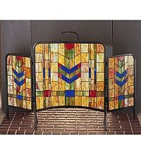 48 Inch W 31 Inch H Prairie Wheat Fireplace Screen Fireplace Screens.Sale Price: 	$765.00