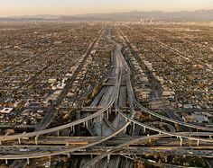 Aerial view, Los Angeles,CA