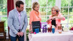 Kym Douglas has several hair remedies for those trying to beat the heat as summer quickly approaches. Tuesday, April 28th, 2015 | Home & Family | Hallmark Channel