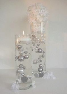 Easy Elegance White & Silver Pearl Beads Including Clear JellyBeadZ® Great for Wedding Centerpieces and Decorations Jelly BeadZ® http://www.amazon.com/dp/B00U2PMMHC/ref=cm_sw_r_pi_dp_3WVDvb04PMA35