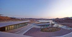 *2014 칭다오 원예 엑스포 파빌리온 [ HHD_FUN ] Heavenly Water Service Center of International Horticultural Exposition 2014 :: 5osA: [오사]