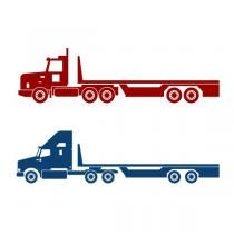 43+ Flatbed semi truck clipart ideas