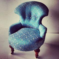 Beautifully restored Victorian Nursing Chair