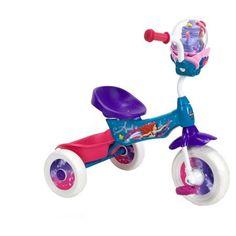 Huffy Disney Little Mermaid Girls' Folding Trike with Bubble Maker