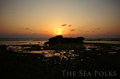 Toguchi Beach at Sunset Okinawa Japan