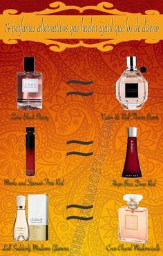 ¿Buscando ahorrar algo de dinero? Aquí te muestro una lista de perfumes alternativos a bajo coste para no tener que prescindir de tu aroma preferido.