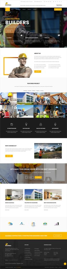 Buildinex is a wonderful 3in1 responsive HTML #bootstrap template for #construction, #architect and building companies website download now➩ https://themeforest.net/item/buildinex-construction-business-html-templates/19391468?ref=Datasata