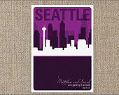 Seattle Save the Date Wedding Save The Dates, Save The Date Cards, Seattle Wedding, Event Planning, Getting Married, Summer Wedding, Dating, Etsy Shop, Invitations