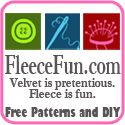 Cute and easy sewing and no-sew fleece projects for adults, kids, babies and home. Free pdf patterns with step-by-step photos; some projects also have how-to videos.