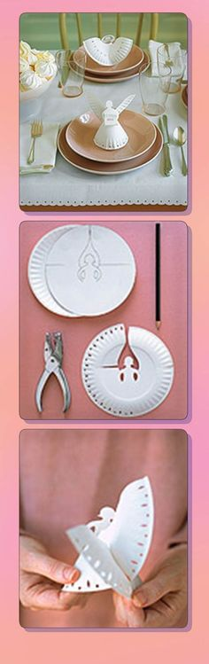 Fun paper plate Chrsitmas crafts for kids.