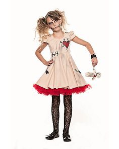 Voodoo Dolly Child Costume - Spirithalloween.com