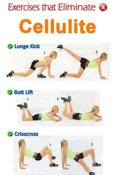 """ Exercises That Eliminate Cellulite""💪 #Health #Fitness #Trusper #Tip"