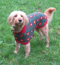 Betty's Christmas Sweater, pattern for purchase