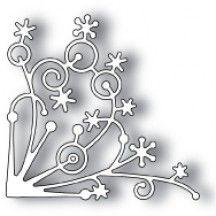 Memory Box Snowflake Corner Universal Cutting Die - 98238