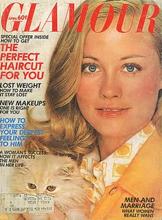 April 1972 cover with Cybill Shepherd
