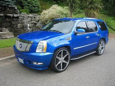 We Offer Fitment Guarantee on Our Rims For Cadillac Escalade. All Cadillac Escalade Rims For Sale Ship Free with Fast & Easy Returns, Shop Now. Cadillac Escalade, Escalade Esv, Sexy Cars, Hot Cars, My Dream Car, Dream Cars, Rolls Royce, 4x4, Custom Sport Bikes