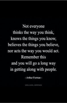 Not everyone