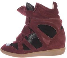 Isabel Marant Beckett Suede Sneakers