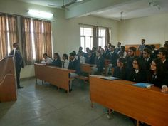 Axis Bank organized the final round of campus placement process for MBA students of #AIMTC on February 22 2017.