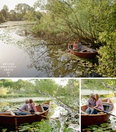 the notebook inspired engagement session in seattle's arboretum with drift boat made by the groom
