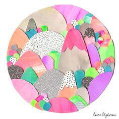 Laura Blythman — Limited Edition Print // SUGAR MOUNTAIN