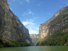 Cañón del Sumidero. Río Grijalva. Chiapas.
