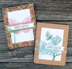 Just love the look of Blendabilities on or with Kraft cardstock! ~ Cindy Schuster