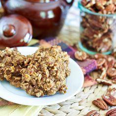 ... Sugar Free / High Protein / Shockingly Healthy Pumpkin Oatmeal Cookies