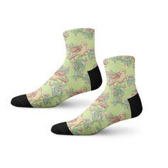 Fashionable socks comes with animated toy prints of tiger and bear on a blue-colored base. Funky Socks, Blue Socks, Colorful Socks, Cool Socks, Animal Print Socks, Custom Socks, Novelty Socks, Designer Socks, Fashion Socks