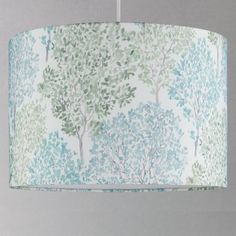 Buy John Lewis & Partners Leckford Trees Lampshade, Green from our Ceiling & Lamp Shades range at John Lewis & Partners. Tree Lamp, Ceiling Lamp Shades, Tree Designs, Lamp Bases, John Lewis, Classic Style, Trees, Fabric, Prints