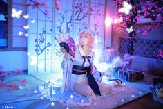 TUNA(TUNA) Yuyuko Saigyouji Cosplay Photo - Cure WorldCosplay