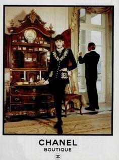 Chanel suit, 1989