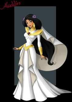 wedding dress by jasmine