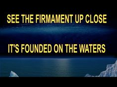 CENSORED FIRMAMENT VIDEO IS BACK AND BETTER - YouTube Flat Earth Movement, German Translation, Freedom Of Information Act, Great Awakening, Ends Of The Earth, Star Children, The Brethren, Science And Technology, Light In The Dark